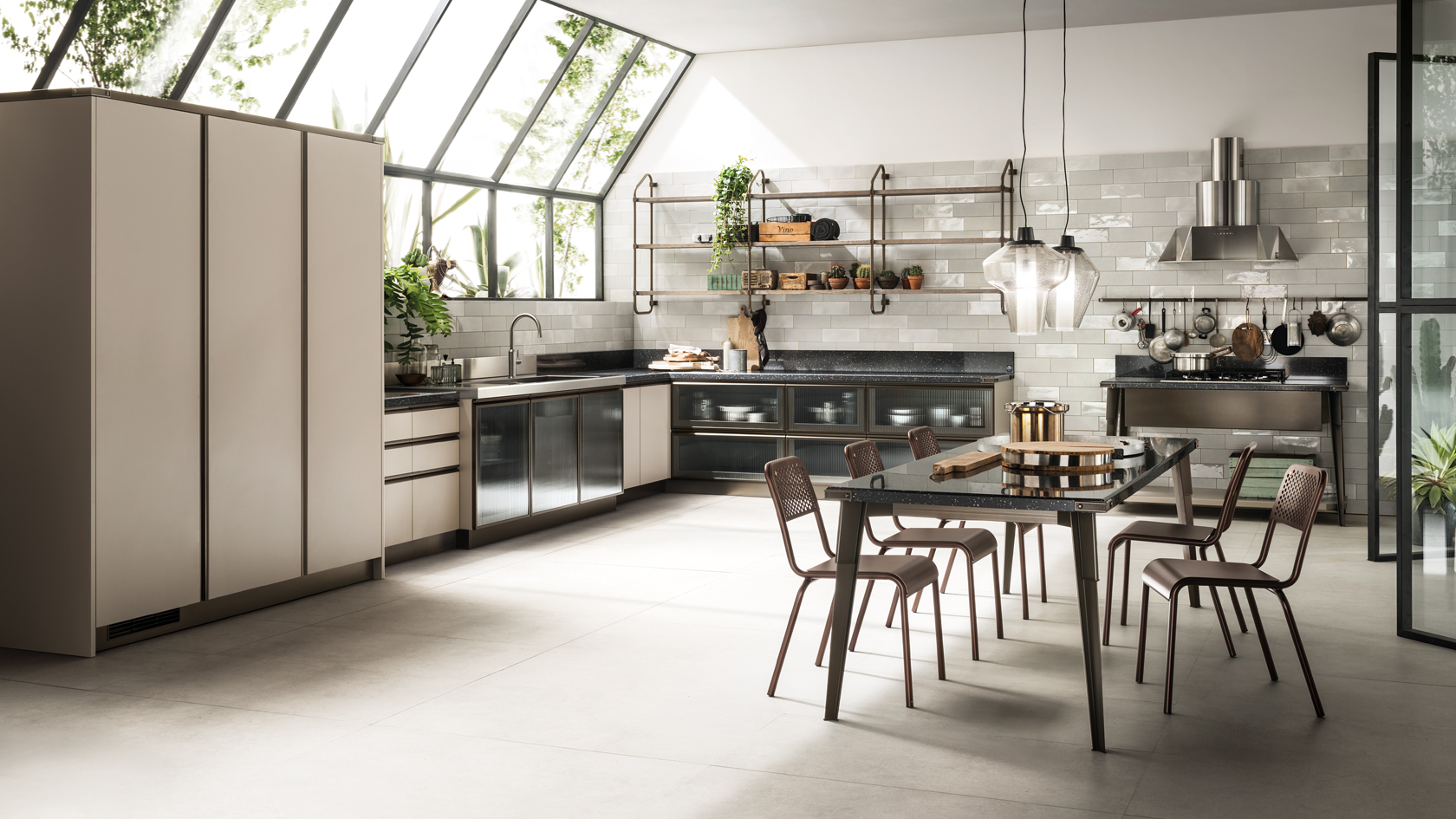 CUCINA SCAVOLINI DIESEL OPEN WORKSHOP